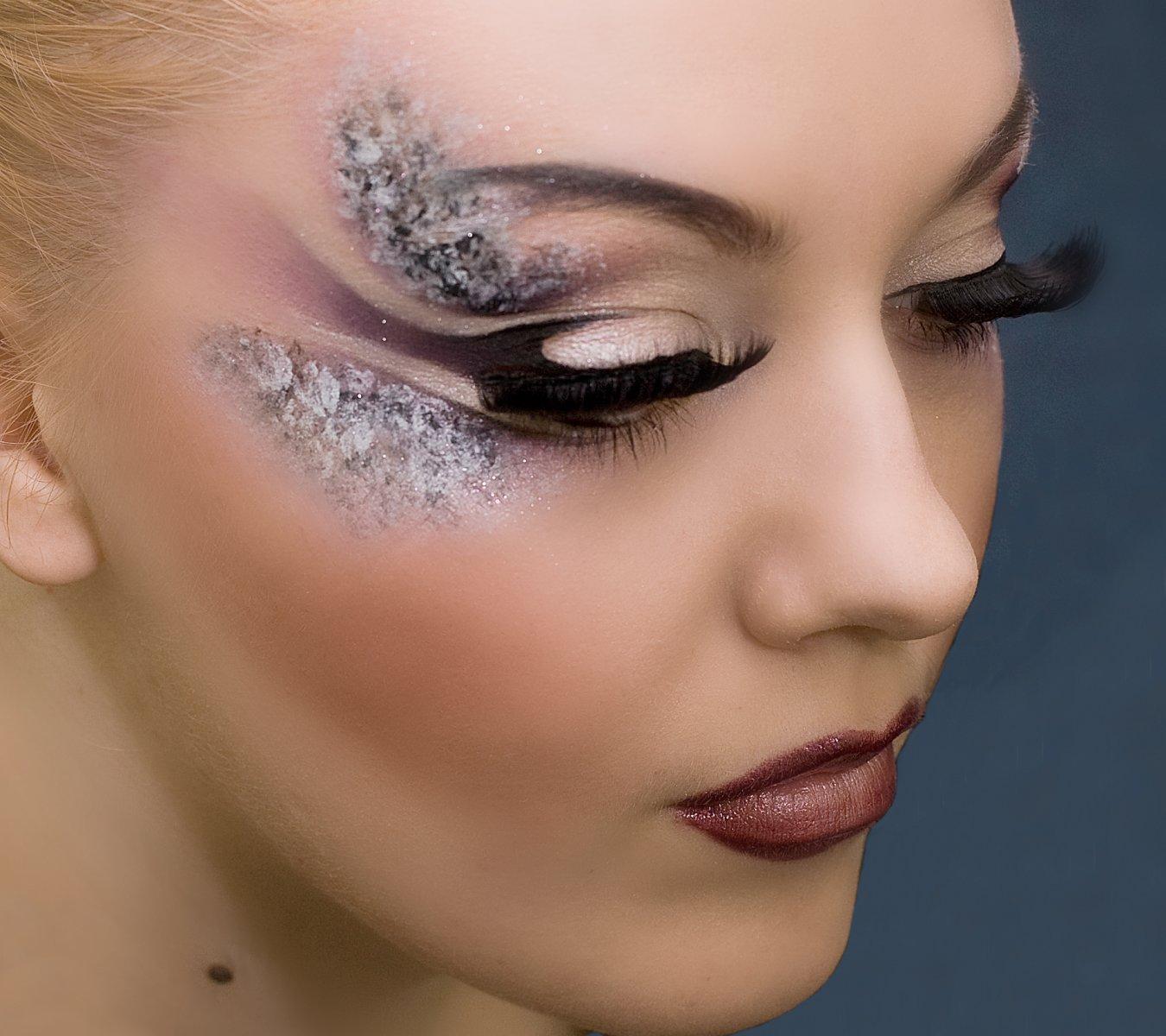 crazy makeup idea 1